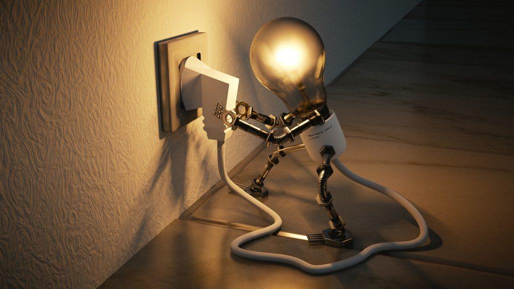 besparen op verbruik elektriciteit stroom